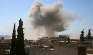 Siria: al menos 30 muertos deja nuevo bombardeo