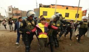 Cobro de peajes: al menos 30 detenidos durante movilización en Puente Piedra