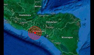 Sismo de magnitud 6,8 remeció El Salvador esta madrugada
