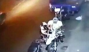 Iquitos: ladrón fue golpeado por vecinos tras intentar robar moto