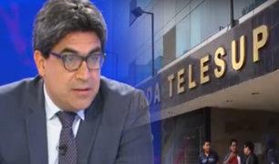 Sunedu: estudiantes  de Telesup no se verán perjudicados tras su cierre
