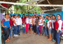 Capacitan a 180 madres cuidadoras y guías de Cuna Más en región San Martín