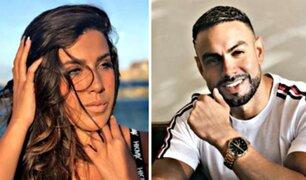 Coto Hernández y ''La Yaha'' se vieron las caras en set de 'En Exclusiva'