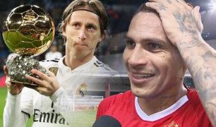 Paolo Guerrero responde mensaje de Luka Modric