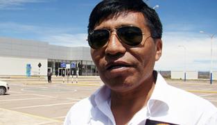 Mamani desmiente que haya estado en control migratorio en Puno