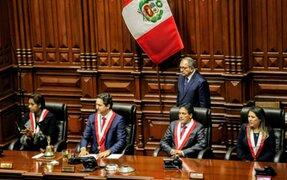 Congreso:  presentan propuestas de diferentes bancadas para integrar Mesa Directiva