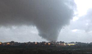 Tornado en Los Ángeles causa severos daños en la ciudad