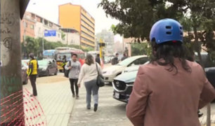 Cierre de calle Berlín agudiza caos vehicular en Miraflores