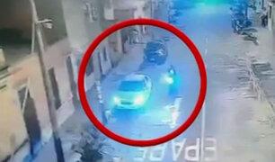 Cámaras registraron ataque a joven en Lince