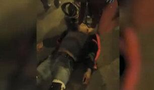 Cercado de Lima: ´Delivery´ fue atropellado por conductor que luego se dio a la fuga