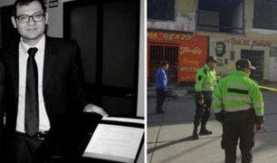Huaraz: asesinan a cuchilladas a fiscal anticorrupción cuando salía de discoteca