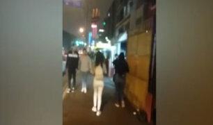 Calles de Lince invadidas por prostitución