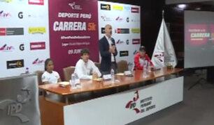 Carrera ´Deporte Perú 5K´ homenajeará a deportistas de Lima 2019