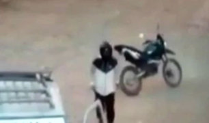 Piura: captan asalto a empresario arrocero