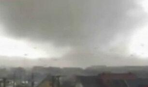 Chile: tromba marina causa alarma y daños materiales en Concepción