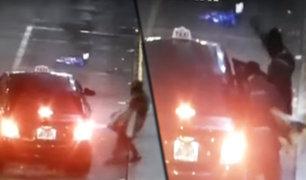 Huaraz: delincuentes roban a pasajeros de taxi