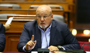 Carlos Bruce deslizó posible represalia en pedido de fiscal Pérez