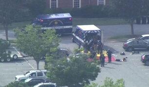 EEUU: tiroteo en Virginia deja 11 personas muertas