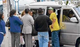 Transportistas formales denuncian incremento desmedido de informales