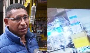 SJL: extranjero roba herramientas de trabajo de hombre que le dio empleo y casa