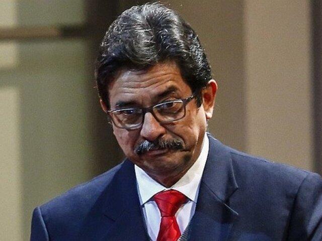 Poder Judicial dispuso no imponer prisión preventiva contra Enrique Cornejo