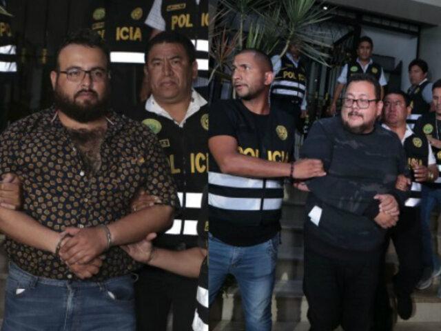 Caso Las Bambas: PJ ordena liberación de hermanos Chávez Sotelo