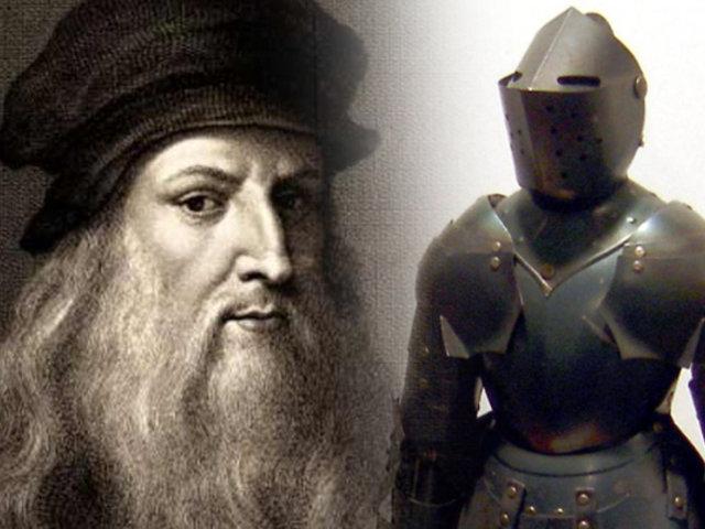 """En 1495, Leonardo da Vinci diseñó un robot al que llamó """"Automa cavaliere"""""""