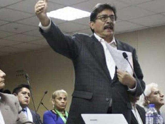 Juez definirá pedido de prisión preventiva para Enrique Cornejo