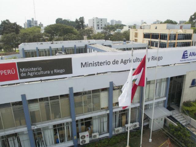 Minagri: Congreso aprueba cambio de nombre a Ministerio de Desarrollo Agrario y Riego