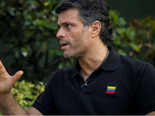 Gobierno español advirtió que limitará actividad política de Leopoldo López
