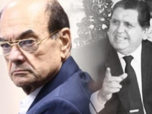 EXCLUSIVO | Alan García recibió US$ 1.3 millones, según declaración de Atala