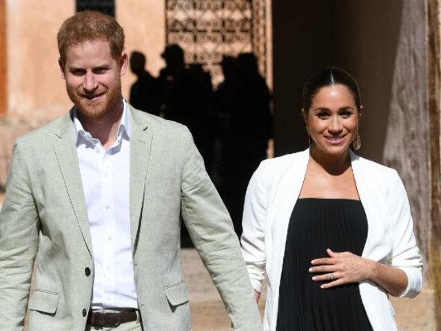 Meghan Markle y el príncipe Harry se convirtieron en padres de un niño