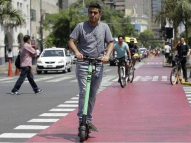 """San Isidro: infractores de """"scooters"""" serán multados con S/.420 hasta S/.840"""