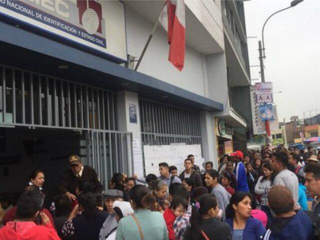Reniec y ONPE anuncian huelga indefinida a pocas semanas de elecciones congresales