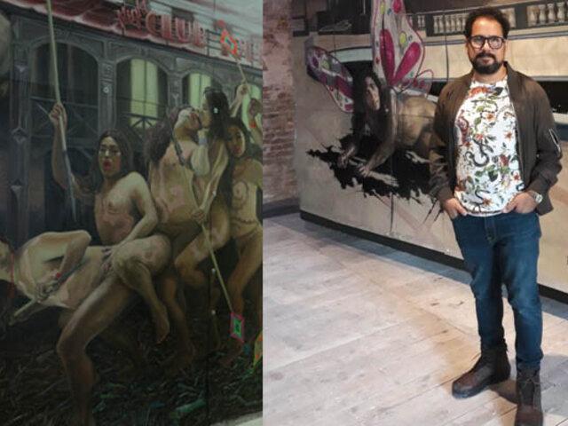 Christian Bendayán: pintor peruano nos representa en la Bienal de Venecia
