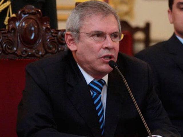Castañeda hablará sobre proyectos Rutas de Lima y Línea Amarilla el viernes