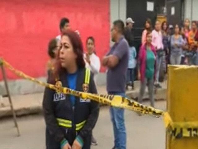 SJM: Padres de familia cierran calle sin autorización para proteger a alumnos de accidentes