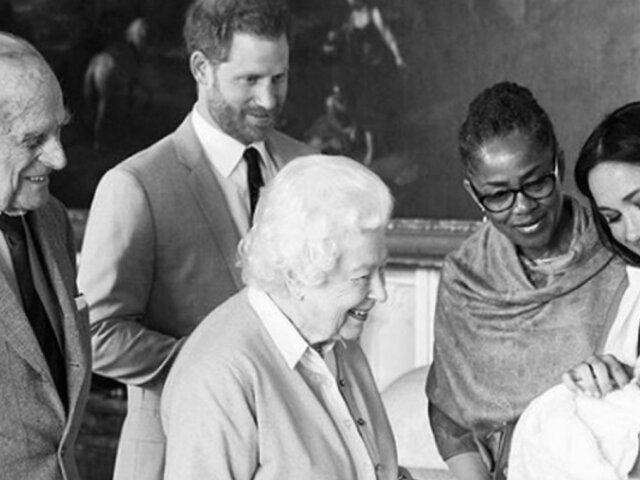 Príncipe Harry y Meghan revelan el nombre de su primer hijo