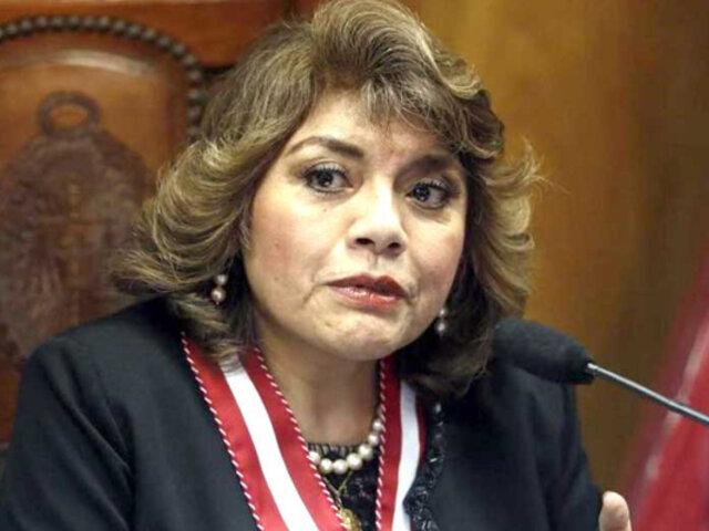 Zoraida Ávalos: declaran improcedente denuncia contra fiscal de la Nación
