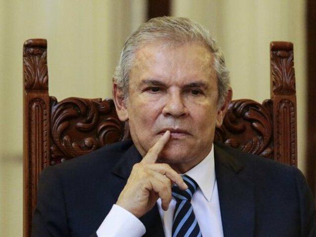 Castañeda Lossio: Fiscalía desiste de pedir 36 meses de impedimento de salida