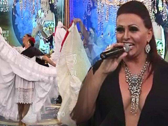 "Fabiola de la Cuba presentó un adelanto del espectacular musical ""Tuttay Quilla"""