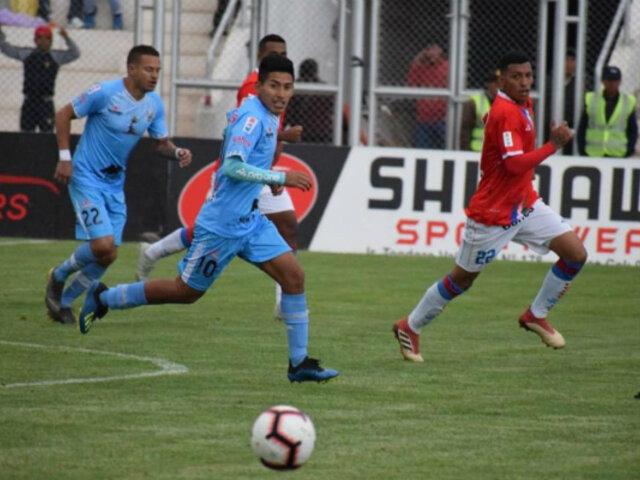 Torneo Apertura 2019: Binacional venció por 3 – 1 a Unión Comercio