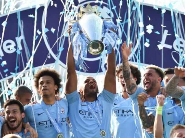 Manchester City se coronó campeón de la Premier League