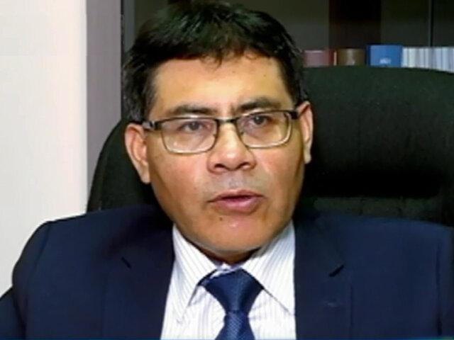 Caso Obrainsa: Fiscal Germán Juárez abre investigación a presidente
