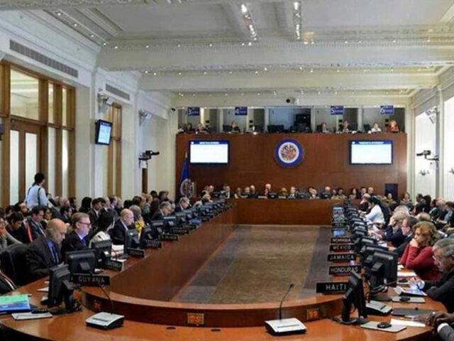 """OEA aprobó resolución que pide """"inmediata libertad"""" de Edgar Zambrano, vicepresidente venezolano de la oposición"""