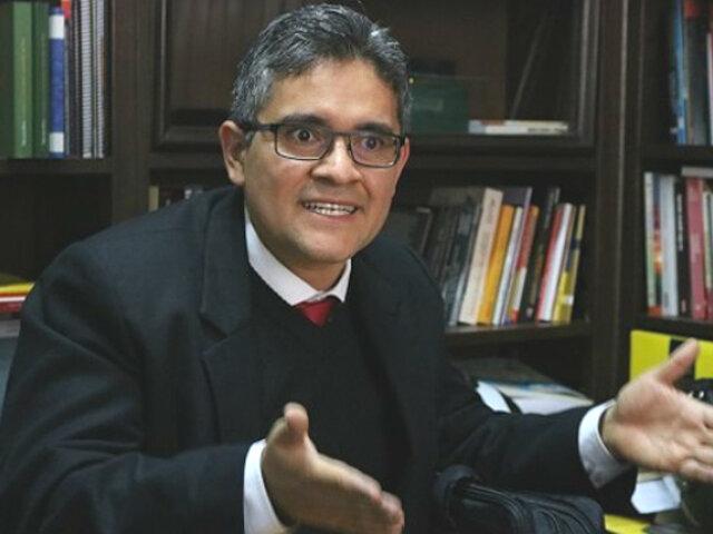 Fiscal Pérez no descarta que documentos contables de Fuerza Popular hayan sido incinerados