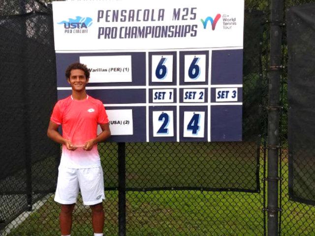 Juan Pablo Varillas: tenista peruano se coronó campeón en torneo en EEUU