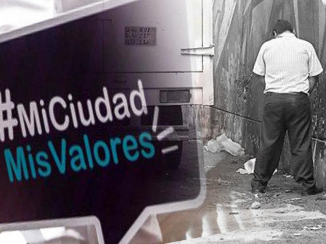 Municipalidad de Lima continúa campaña para cambiar malas costumbres de vecinos