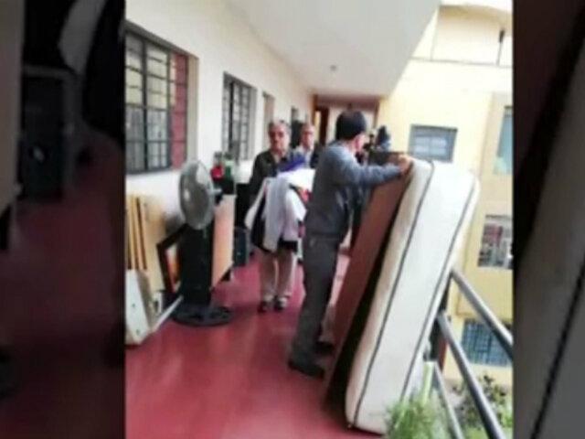 Residentes que vivían en predios magisteriales denuncian desalojo arbitrario