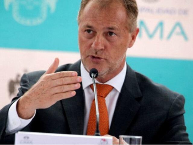 Jorge Muñoz: Renegociación de tarifa de peajes está avanzando
